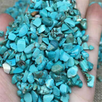 Turquoise Ore Crushed Gravel Stone Chunk Lots Degaussing Healing lovely crystal