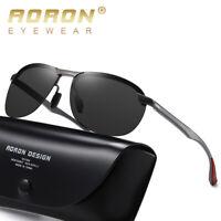 Men's HD Photochromic Sunglasses Polarized Chameleon Driving Outdoor Sunglasses