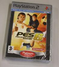JEU SONY PS 2  PES 6 pro evolution soccer   neuf   vf