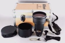 【N MINT in Case】Nikon Ai-s NIKKOR ED 200mm F2 AIS Lens w/ Hood DG-2 Japan #201