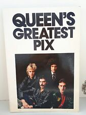 QUEEN GREATEST PIX VINTAGE 81 PHOTO BOOK FREDDIE MERCURY BRIAN MAY jacques lowe