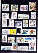 NOUV France 2015 2016 2017 - TROIS  années complètes des timbres gommés  6 scans
