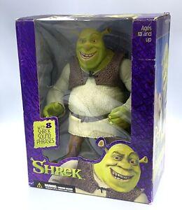 "VINTAGE TALKING SHREK 12""  Original Super size Shrek Figure McFarlane Toys NIB"
