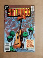 Sgt. Rock #417 FN 1987 DC Comic Joe Kubert