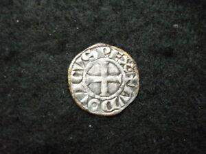 """Denier Tournois Louis IX """" Saint Louis """" 1245-1270."""