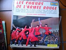 """LP 12"""" LES CHOEURS DE L'ARMEE ROUGE VOL. 2  DIRECTION BORIS ALEXANDROV  N/MINT"""