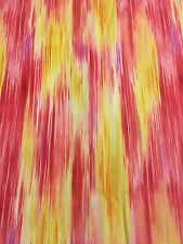Quilting Fabric, 100% Cotton, Colorful Expressions By RJR, 3 Yds