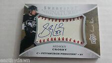 2007-08 Upper Deck Sweet Shot SIDNEY CROSBY Sweet Spot Signatures Baseball Skins