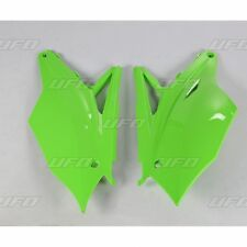 UFO Kawasaki Motocross MX Side Panels KXF 250 2017 KXF 450 2016- 2017 Green
