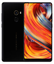 Teléfonos móviles libres negros, modelo Xiaomi Mi Mix 2 con Android