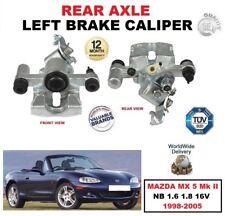 eje trasero dcho. O izdo. Pinza de freno Del Lado Para Mazda MX 5 MK II NB 1.6