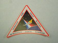NASA STS-39 Crew Patch Space Shuttle Discovery Dept. of Defense Sticker Decal