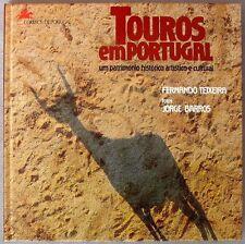 s1795) Touros em Portugal - Special book Bull fighting 1992 + Color reprint