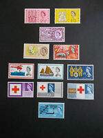 GB 1963 Commemorative Stamps, Year Set~Unmounted Mint~UK Seller