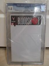 Archer & Armstrong, BloodShot #1 Blank Sketch Flip Cover CGC 9.8