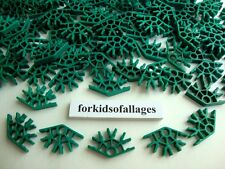 100 GREEN CONNECTORS 4-Position Bulk Standard KNEX Replacement Parts/Pieces Lot