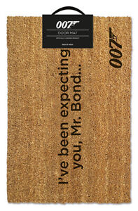 JAMES BOND (I'VE BEEN EXPECTING YOU) MAT *OFFICIAL - FAST UK DISPATCH*