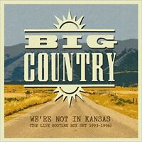Big Country Were Not In Kansas Live Bootleg Box Set 93-98 CD NEW sealed