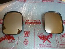 Genuine Toyota Landcruiser FJ40 Convex Mirrors NOS BLACK HJ47 BJ42 FJ45 FJ45