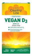 Vegan D3 Country Life 60 VCaps