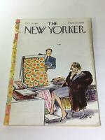 The New Yorker: October 23 1965 Full Magazine/Theme Cover Charles Saxon