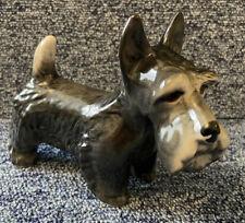More details for ceramic glazed black/grey scottish terrier/scottie dog. melba ware?