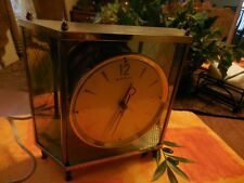 Vintage Mid-Century Mantel Clock by Mastercrafters Model No 911 Style MCM 50's