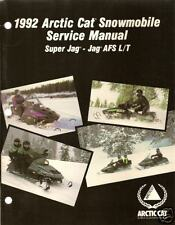 1992 ARCTIC CAT SUPER JAG & JAG  AFS SERVICE  MANUAL