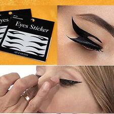 8 Pairs Beautiful Temporary Eye Tattoo Transfer Eyeshadow Eyeliner Stickers HF