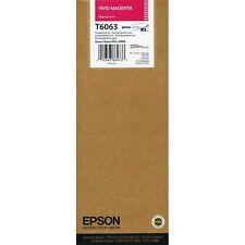 Epson T6063 220 ml Vivid Magenta K3 Ink Cartridge