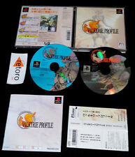 VALKYRIE PROFILE playstation PSX Play Station PS1 JAPONES Complet Spine