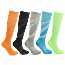 Compression Socks Men Women Sport Pain Relief Calf Leg Foot Support Stocking S L