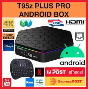 T95Z Plus 2/3G+16/32/64 MINI PC HDMI HD WIFI Android 9 Smart TV Box Media Player