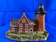 Harbour Lights Southeast Block Island Lighthouse, Rhode Island, #403R COA/box