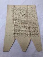 ANTIKES SCHREIBEN / URKUNDE / MANUSKRIPT AUS DEM JAHR 1659 TINTE AUF PAPIER