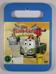 The Little Cars 4 DVD New Genie Adventures FREE POST