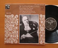 HLM 7154 Sir Thomas Beecham Conducts Strauss Don Quixote Wagner Faust HMV NM/EX