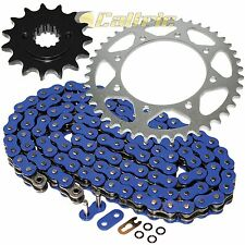 Blue O-Ring Drive Chain & Sprocket Kit Fits KAWASAKI KLR650 KL650A KL650E 90-16