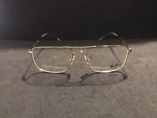 Ray-Ban Eyeglasses RB 6434 NEW Color 2500 Gold Size 55-18 Square Large Mens