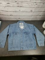 PEPSI Light Wash NWT Jean Jacket XL Button Jacket Vinatge 90's Nothing Else Is A