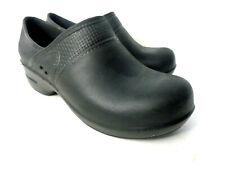 SANITA EUR 36 US 5.5M 6M Slip Resistant Slip on Molded Black Clog Shoes