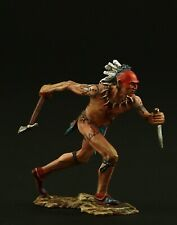 Tin soldier, Collectible, American Woodland Indian 54 mm, American Natives