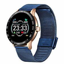 Smart Watch Men Women Waterproof Heart Rate Blood Pressure Sport Android iOS