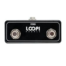 Dual Soft Touch Momentary Footswitch - Normally Open - Loopi Pedals