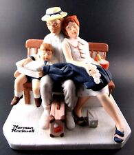 """Norman Rockwell Porcelain Figurine The Danbury Mint """"Home From Vacation"""" (Le)"""