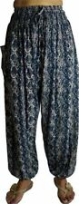 Rayon Harem Machine Washable Regular Size Pants for Women