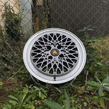 """Autostar MINUS 15"""" x7.5"""" 4x100 et25 alloys fit VW LUPO POLO BMW E30"""