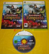 DYNASTY WARRIORS 6 EMPIRES Xbox 360 Versione Ufficiale Italiana »»»»» COMPLETO