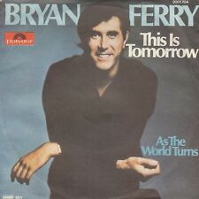 "BRYAN FERRY THIS IS TOMORROW 1977 RECORD YUGOSLAVIA 7"" PS ROXY MUSIC"