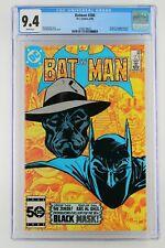 Batman #386 - DC 1985 CGC 9.4 Origin and 1st Appearance of Black Mask (Roman Sio